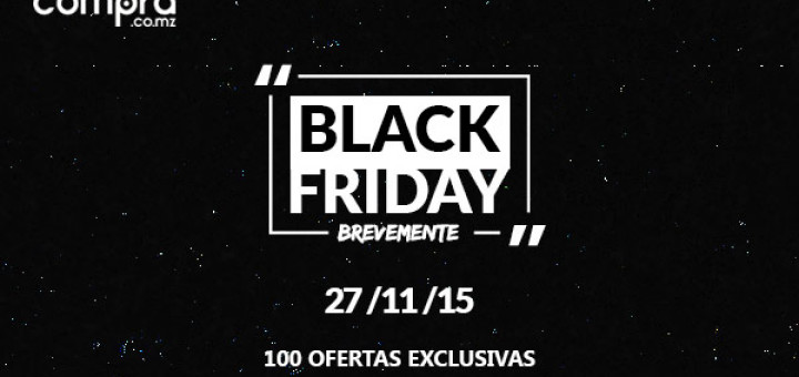 Compra.co.mz Black Friday - Commercio Online em Mocambique