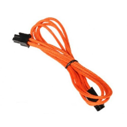 ATX 4-pin Male to 4-pin Female Extension Cable - Orange