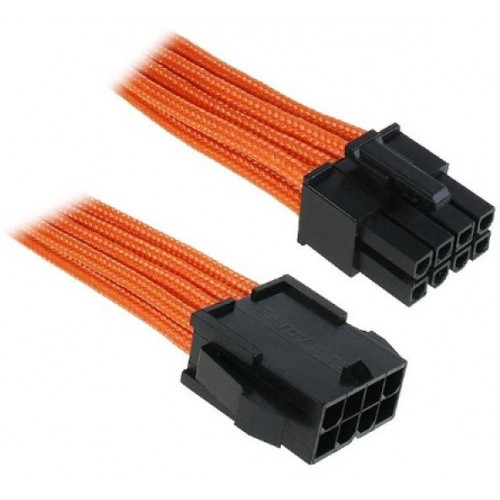 EPS12v PSU-MB Extension Cable - Orange