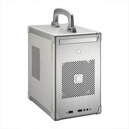 Mini Tower Chassis - Silver (PC-TU100S)
