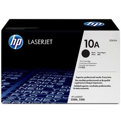 10A Black LaserJet Toner Cartridge (Q2610A)