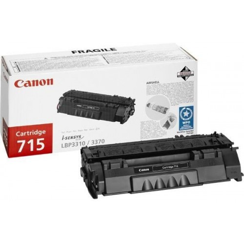 715 Black Laser Toner Cartridge