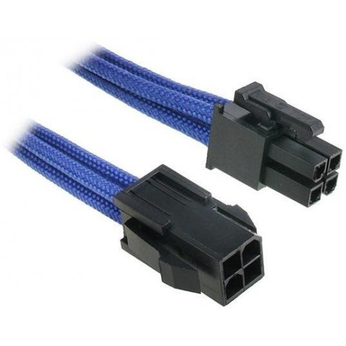 ATX 4-pin Male to 4-pin Female Extension Cable - Blue
