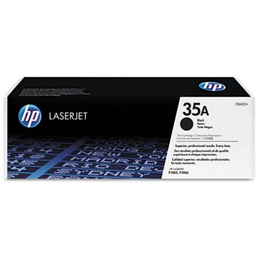 35A Black LaserJet Toner Cartridge (CB435A)