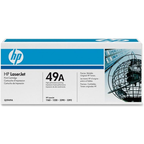 49A Black LaserJet Toner Cartridge (Q5949A)