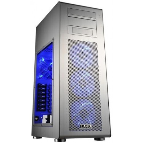 PC-X900 Mid Tower Chassis - Silver
