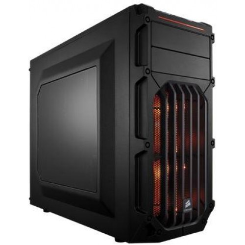 Carbide Series SPEC-03 Mid Tower Gaming Chassis - Orange LED (CC-9011054-WW)