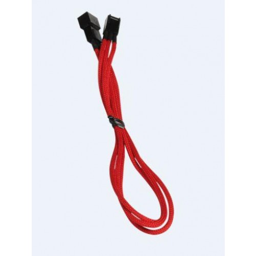 Alchemy 30cm 3-pin Power Extension Cable - Red