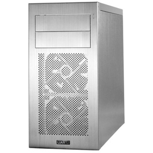 PC-A04 Mini Tower Chassis - Silver
