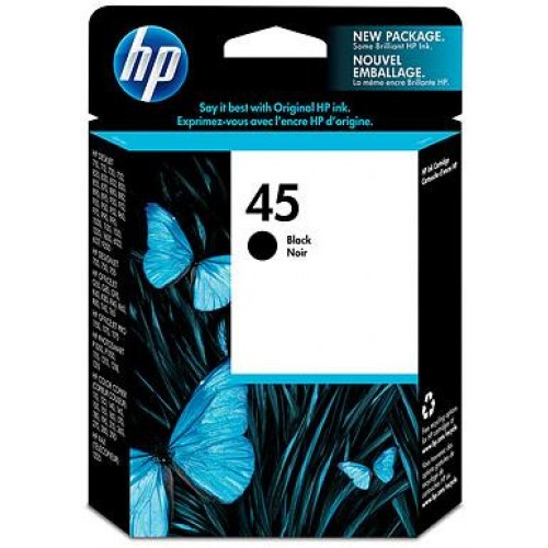 45 Black Ink Cartridge
