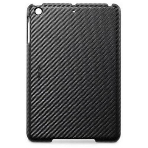 iPad Mini Protective Carbon Texture Hard-Shell Case - Midnight Black