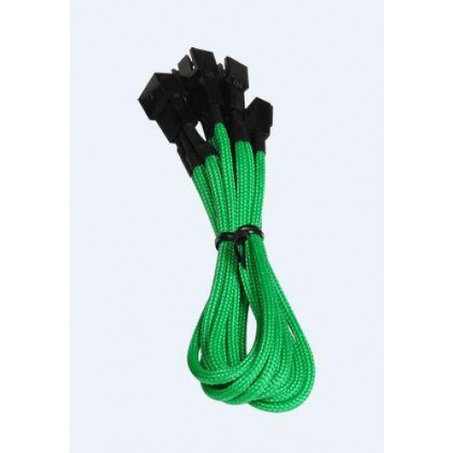 Alchemy 1 x 3-pin to 3 x 3-pin Power Extension Cable - Green