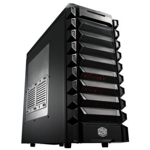K Series K550 Mid Tower Chassis - Black (RC-K550-KWN1)