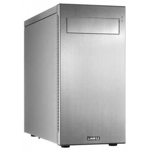 PC-A55 Mini Tower Chassis - Silver