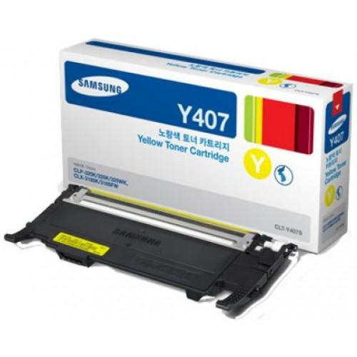 CLT-Y407S Yellow Laser Toner Cartridge