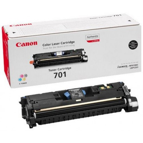 701 Black Laser Toner Cartridge