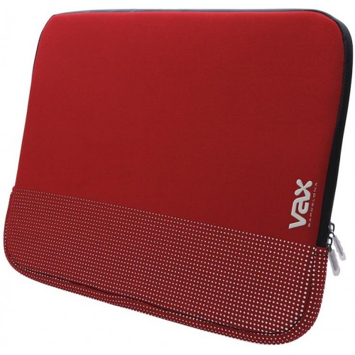 Fontana VAX-S135FARDS Notebook Sleeve - Red/Silver