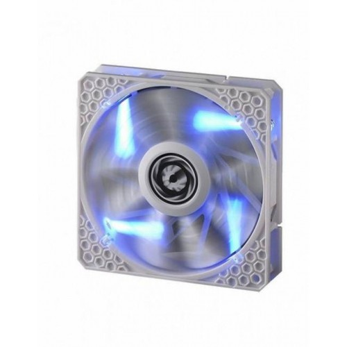 Spectre Pro LED 120mm Chassis Fan - White With Blue LED (BFF-WPRO-12025B-RP)