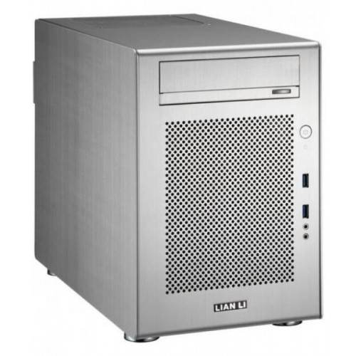 PC-V650 Mini Tower Chassis - Silver