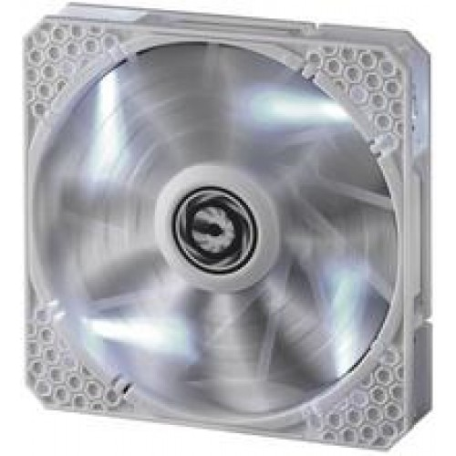 Spectre Pro LED 120mm Chassis Fan - White With White LED (BFF-WPRO-12025W-RP)