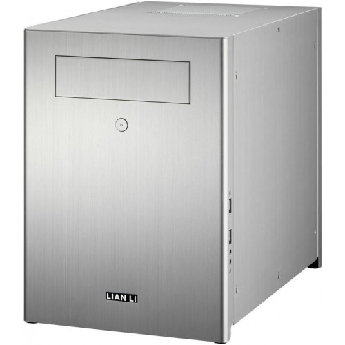 PC-Q28 Mini Tower Chassis - Silver