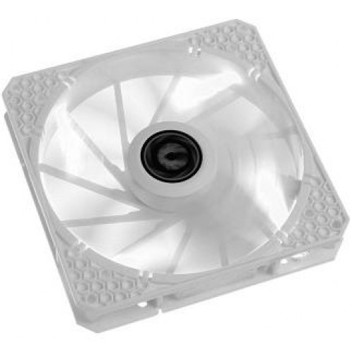 Spectre Pro LED 140mm Chassis Fan - White With White LED (BFF-WPRO-14025W-RP)