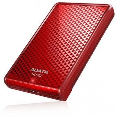 Choice HC630 Holiday Edition 500GB External Hard Drive - Red