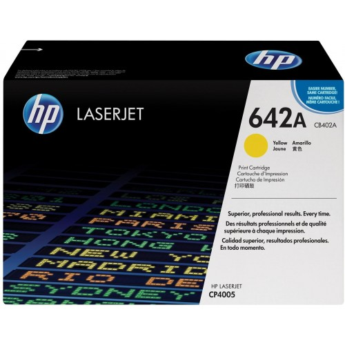 642A Yellow LaserJet Toner Cartridge (CB402A)