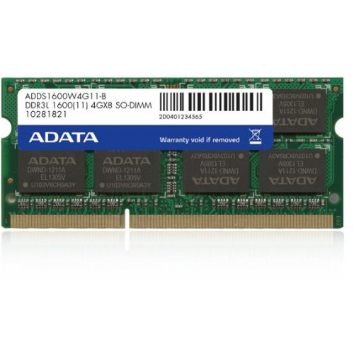 Premier Series 8GB 1600MHz DDR3L Notebook Memory Module (ADDS1600W8G11-R)