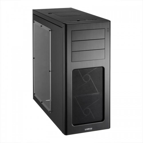 PC-7HWX Mid Tower Chassis - Black