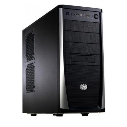 Elite 371 Mid Tower Chassis - Black (RC-371-KKN3)