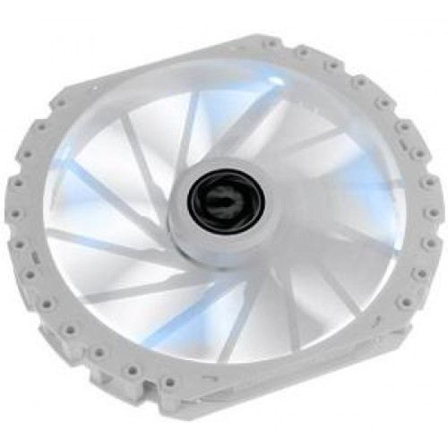 Spectre Pro LED 230mm Chassis Fan - White With Blue LED (BFF-WPRo-23030B-RP)