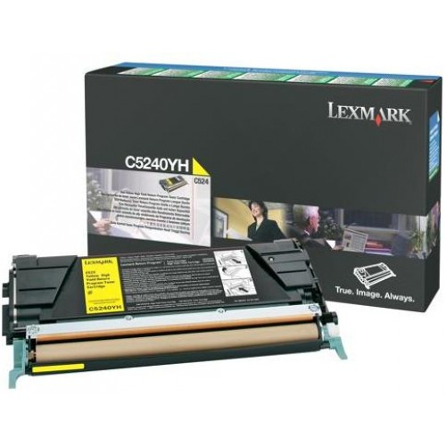 C5240YH Yellow High Yield Laser Toner Cartridge