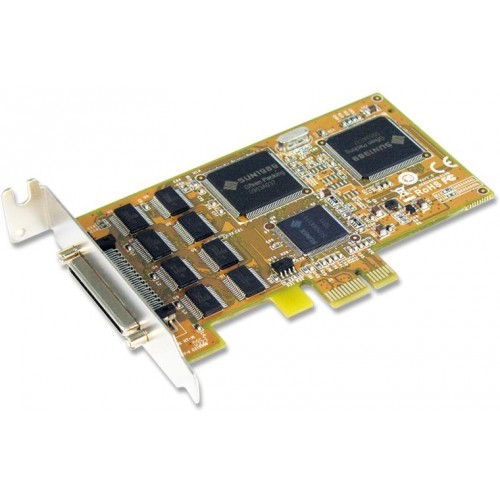8-port RS-232 PCI Express Low Profile Serial Card