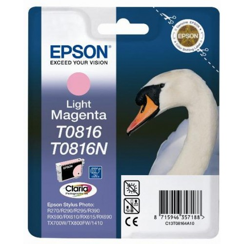 T0816 Light Magenta Ink Cartridge (Swan)