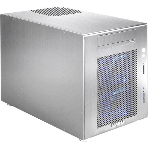 V354 PC-V354A Mini Tower Chassis - Silver