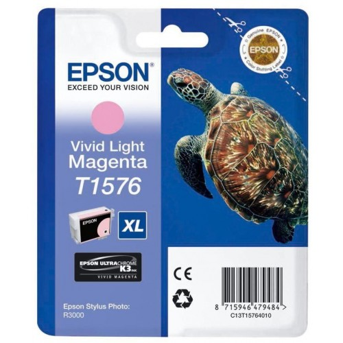 T1576 Vivid Light Magenta Ink Cartridge (Turtle)
