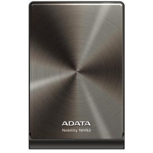 NH92 Series 750GB External Portable Hard Drive - Silver