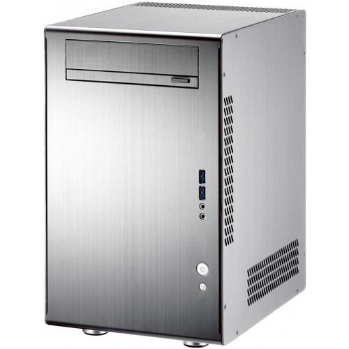 Q11 PC-Q11A Mini Tower Chassis - Silver