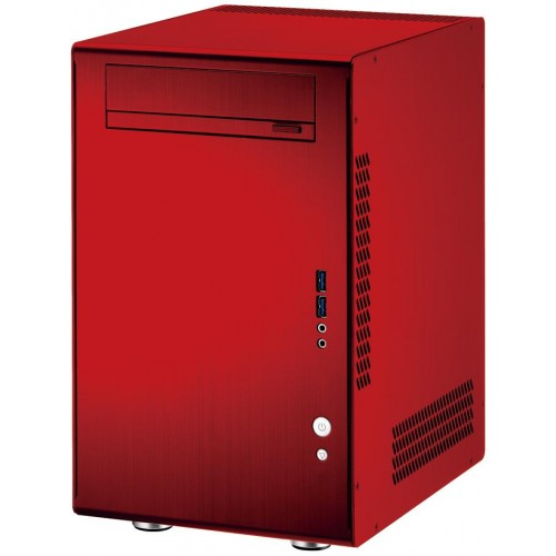 Q11 PC-Q11R Mini Tower Chassis - Red
