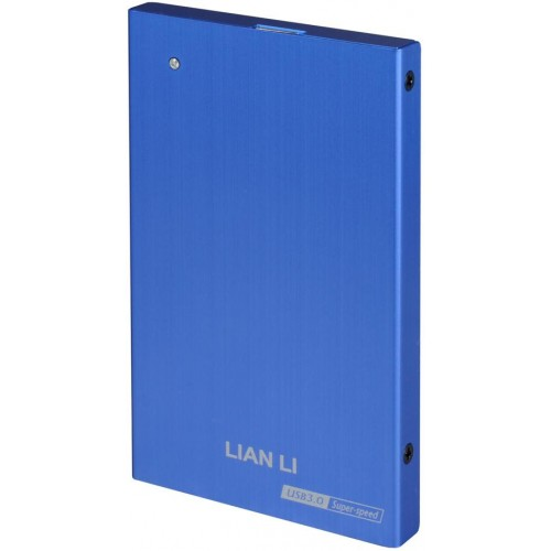 "EX-10Q 2.5"" SATA II to USB3.0 Enclosure - Blue"