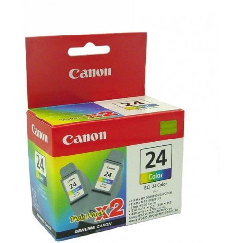 BCI-24C 2 x Color Ink Cartridges