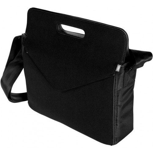 """Tuset 13.5"""" Notebook Case - Black with Grey interior"""