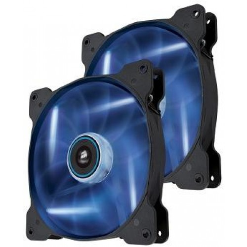 Air Series Blue Quiet Edition AF120 120mm Chassis Fan (Twin Pack) - Blue LED (Co-9050016-BLED)