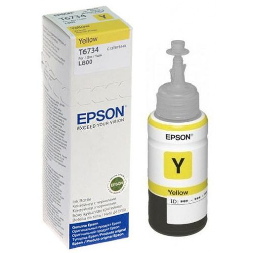 L-Series T6734 Yellow Ink Bottle