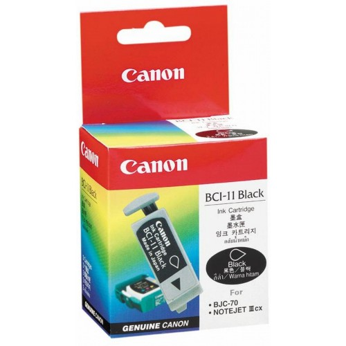 BCI-11BK Black Ink Cartridge