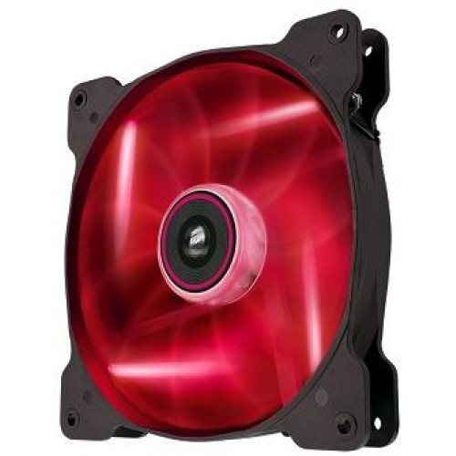 Air Series Red Quiet Edition AF140 140mm Chassis Fan - Red LED ( Co-9050017-RLED)