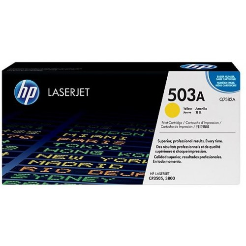 503A Yellow LaserJet Toner Cartridge (Q7582A)