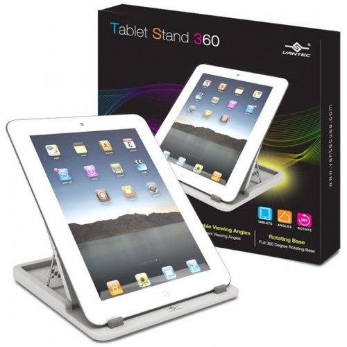 White Tablet Stand for iPAD / Tablet / eBook (TAC-100-WH)
