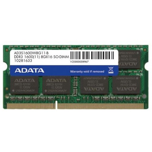 Premier Series 2GB 1600MHz DDR3 Notebook Memory Module (AD3S1600C2G11-R)